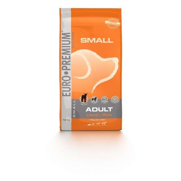 EURO-PREMIUM Small Adult Lam & Rijst 12 kg