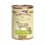 Terra Canis Classic Meals, Veal with Millet, Cucumber, Yellow Melon and Wild Garlic 800 g