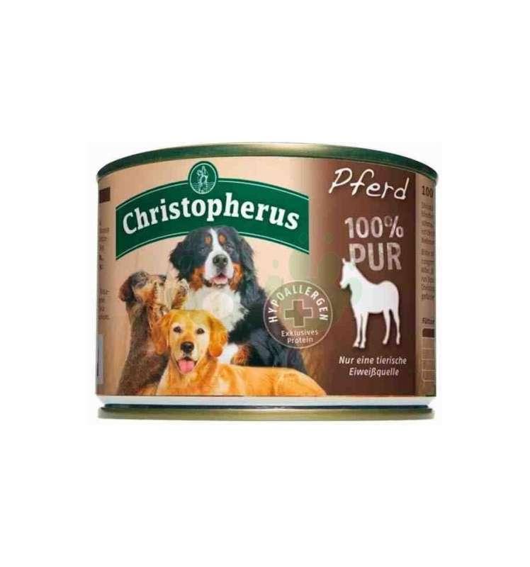 Christopherus Fleischmahlzeit - 100% Pur Horse Can 200 g 4005784076902 erfaringer