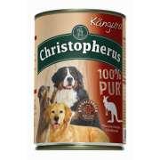 Christopherus Fleischmahlzeit  - 100% Pur Kangaroo Can 400 g