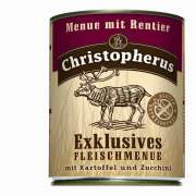 Christopherus Exclusive Meat Menu - Reindeer, Potato and Zucchini Can 800 g