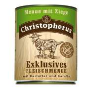 Christopherus Exclusive Meat Menu - Goat meat, Potato and Carrots Can 800 g