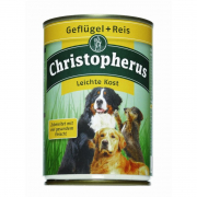 Adult Dog Light – Poultry & Rice Can Christopherus 400 g