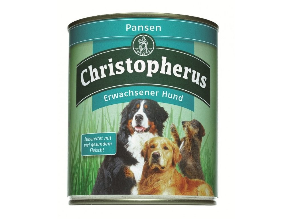 Christopherus Adult Dog – Pure Rumen Can 800 g 4005784076315 erfaringer
