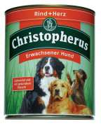 Christopherus Adult Dog – Beef & Heart Can 800 g
