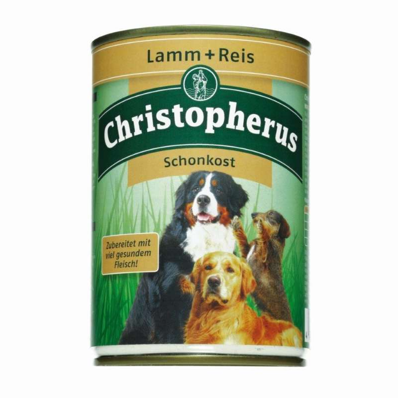 Christopherus Adult Dog Diet – Lamb & Rice Can 400 g 4005784076032 erfaringer