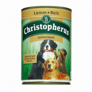 Adult Dog Diet – Lamb & Rice Can Christopherus 400 g