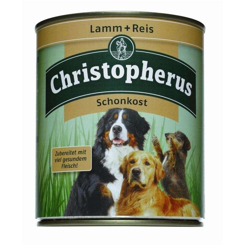 Christopherus Adult Dog – Lamb & Rice Can 800 g 4005784076032 erfaringer