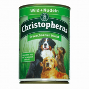 Adult Dog – Game Meat + Pasta Can Christopherus 400 g