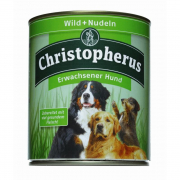 Christopherus Adult Dog – Game Meat & Pasta Can 800 g