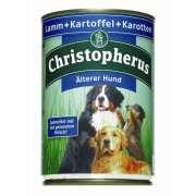 Christopherus Älterer Hund - Lamm,Kartoffel & Karotten Dose 400 g