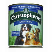 Christopherus Senior – Lamb, Potatoes & Carrots Can 800 g