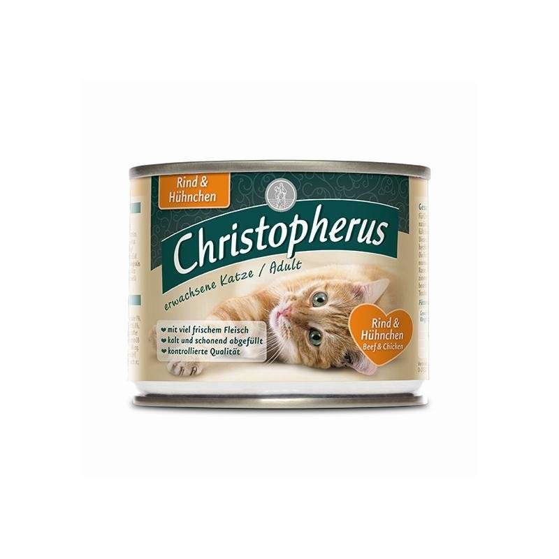 Christopherus Adult Cat - Beef & Chicken Can 800 g, 200 g, 400 g