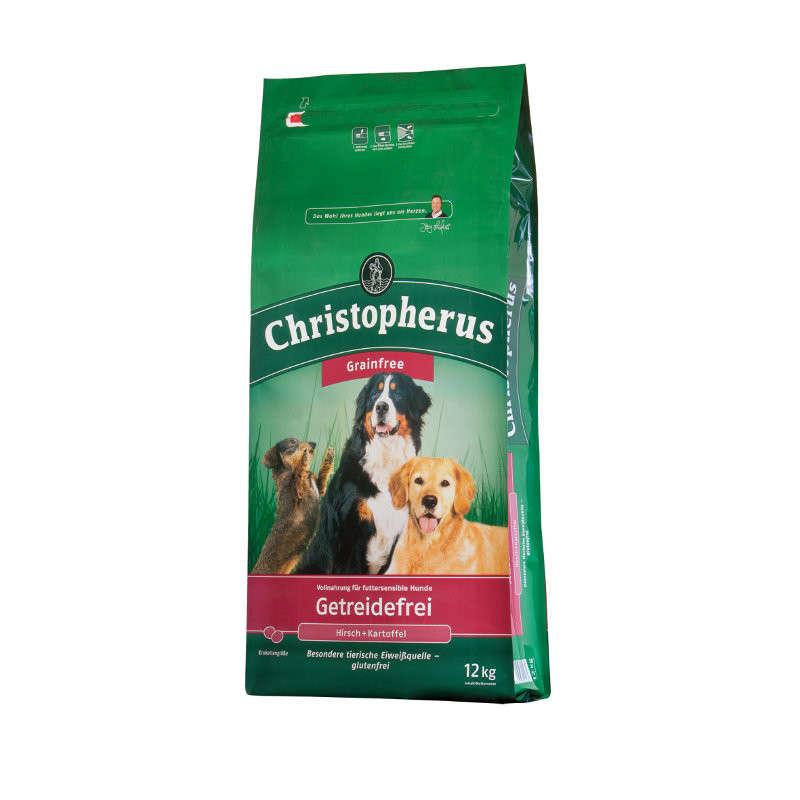 Christopherus Adult Dog Grainfree – Deer & Potatoes 12 kg, 4 kg, 1.5 kg osta edullisesti