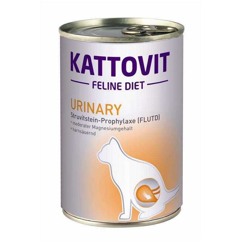 Kattovit Feline Diet Urinary - Struvite Stones Prophylaxis (FLUTD) 12x400 g, 400 g test