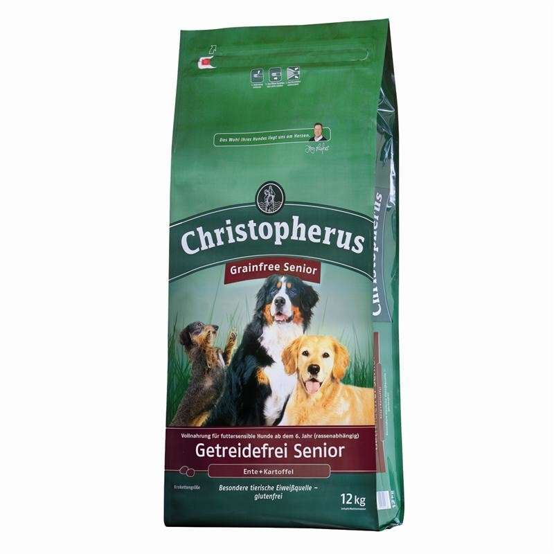 Christopherus Senior Grain Free – Duck & Potato 1.5 kg, 12 kg, 4 kg