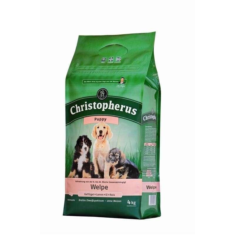 Christopherus Puppy – Gevogelte, Lam, Eieren & Rijst 4 kg 4005784022046