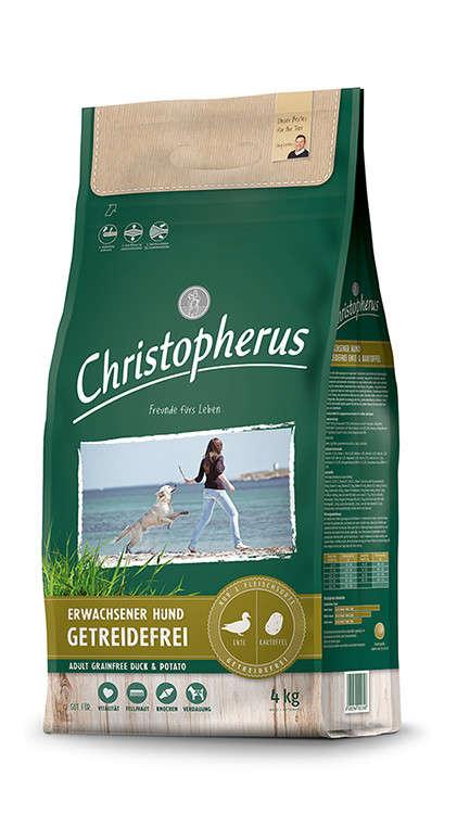 Christopherus Adult Dog Grainfree – Duck & Potatoes 4 kg