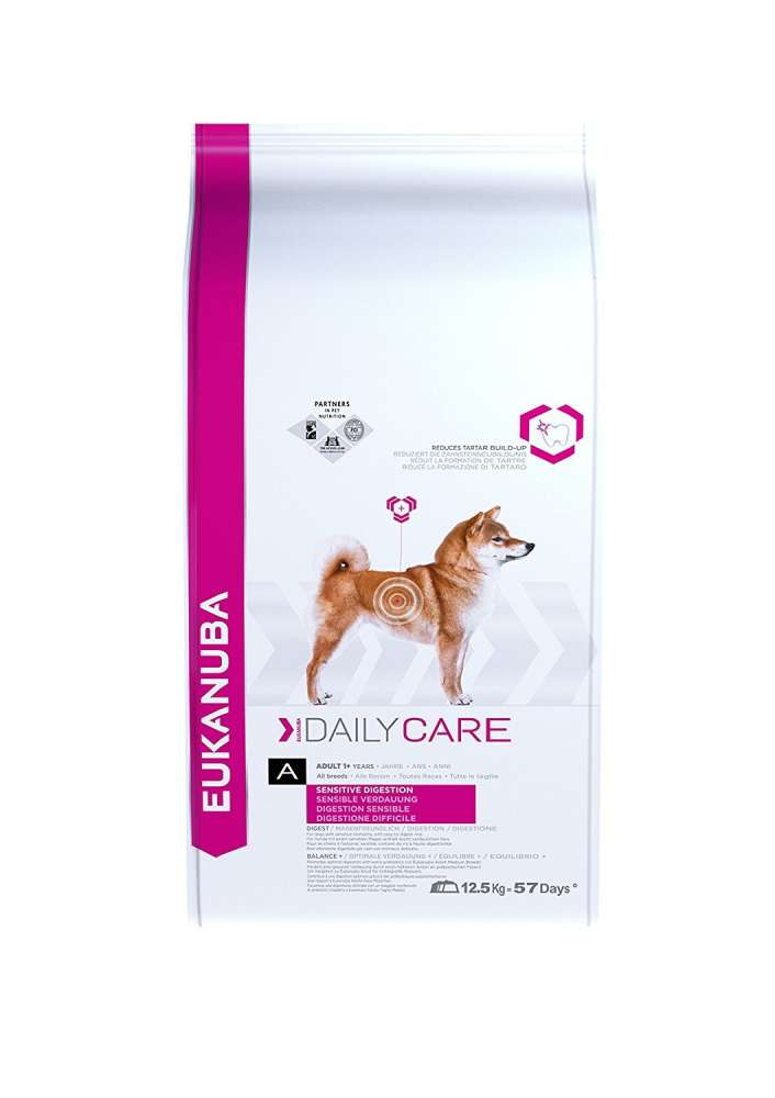 Eukanuba Daily Care Sensitive Digestion, Chicken 12.5 kg osta edullisesti