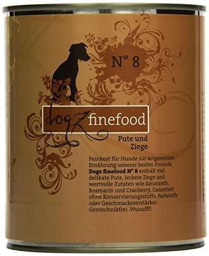 Dogz Finefood No.8 Pute & Ziege 800 g 4260101763440