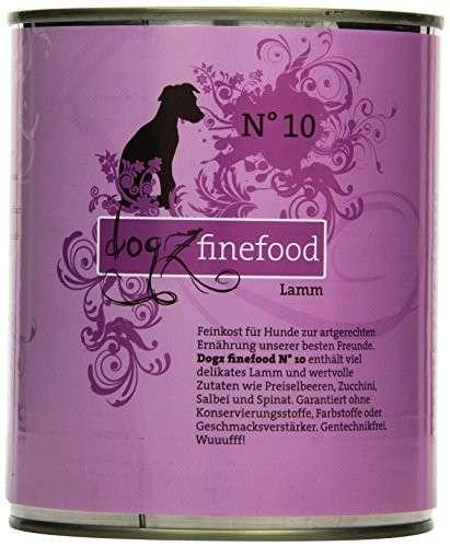 Dogz Finefood No.10 Lamm 800 g