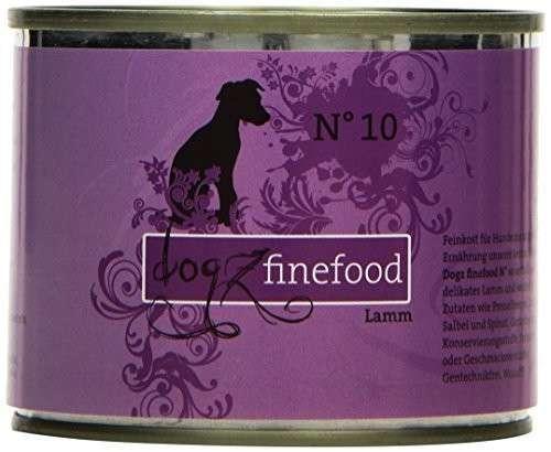 Dogz Finefood No.10 Lamm 400 g, 200 g, 800 g, 100 g