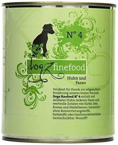 Dogz Finefood No.4 Huhn & Fasan 800 g