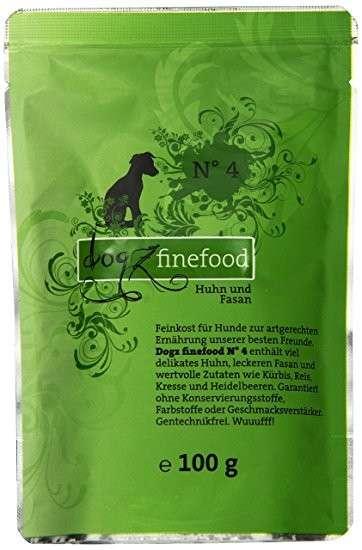 Dogz Finefood No.4 Huhn & Fasan 400 g, 200 g, 800 g, 100 g online bestellen