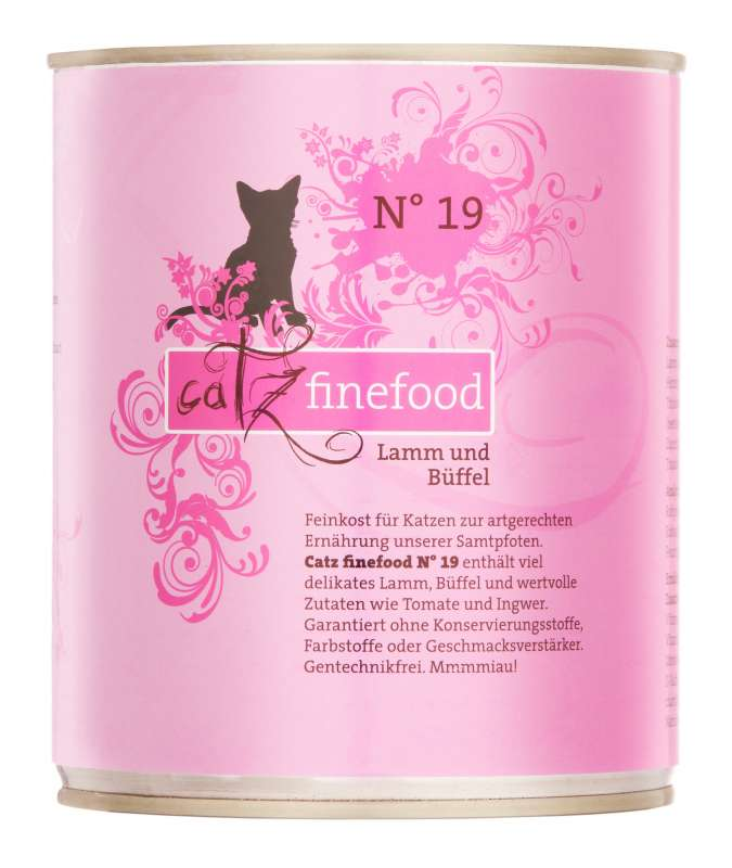 Catz Finefood No.19 Lamb & Buffalo 800 g