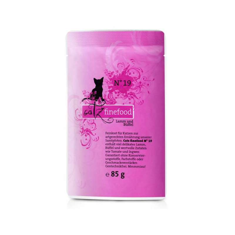 Catz Finefood No.19 Lamb & Buffalo 85 g