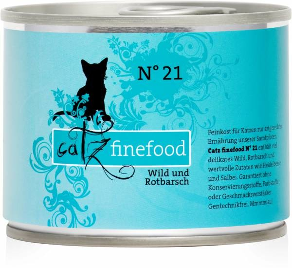 Catz Finefood No.21 Game & Rosefish 85 g, 800 g, 400 g, 200 g buy online