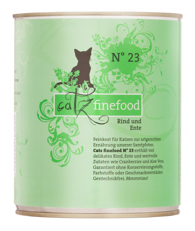 Catz Finefood No.23 Beef & Duck EAN: 4260101763082 reviews