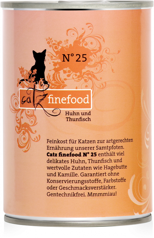 Catz Finefood No.25 Chicken & Tuna 400 g