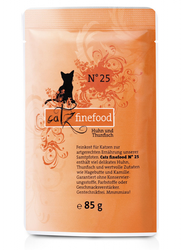 Catz Finefood No.25 Chicken & Tuna 85 g, 800 g, 400 g, 200 g buy online