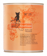 Catz Finefood No.25 Chicken & Tuna 800 g