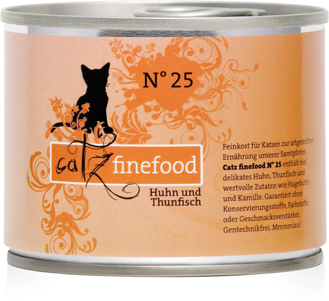 Catz Finefood No.25 Kip & Tonijn 200 g