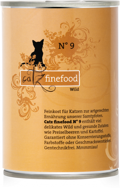 Catz Finefood No. 9 Game 400 g