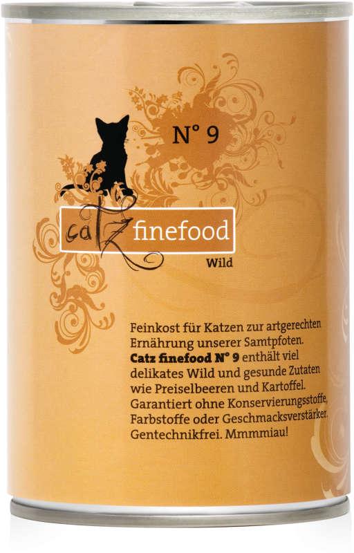Catz Finefood No. 9 Wild 400 g