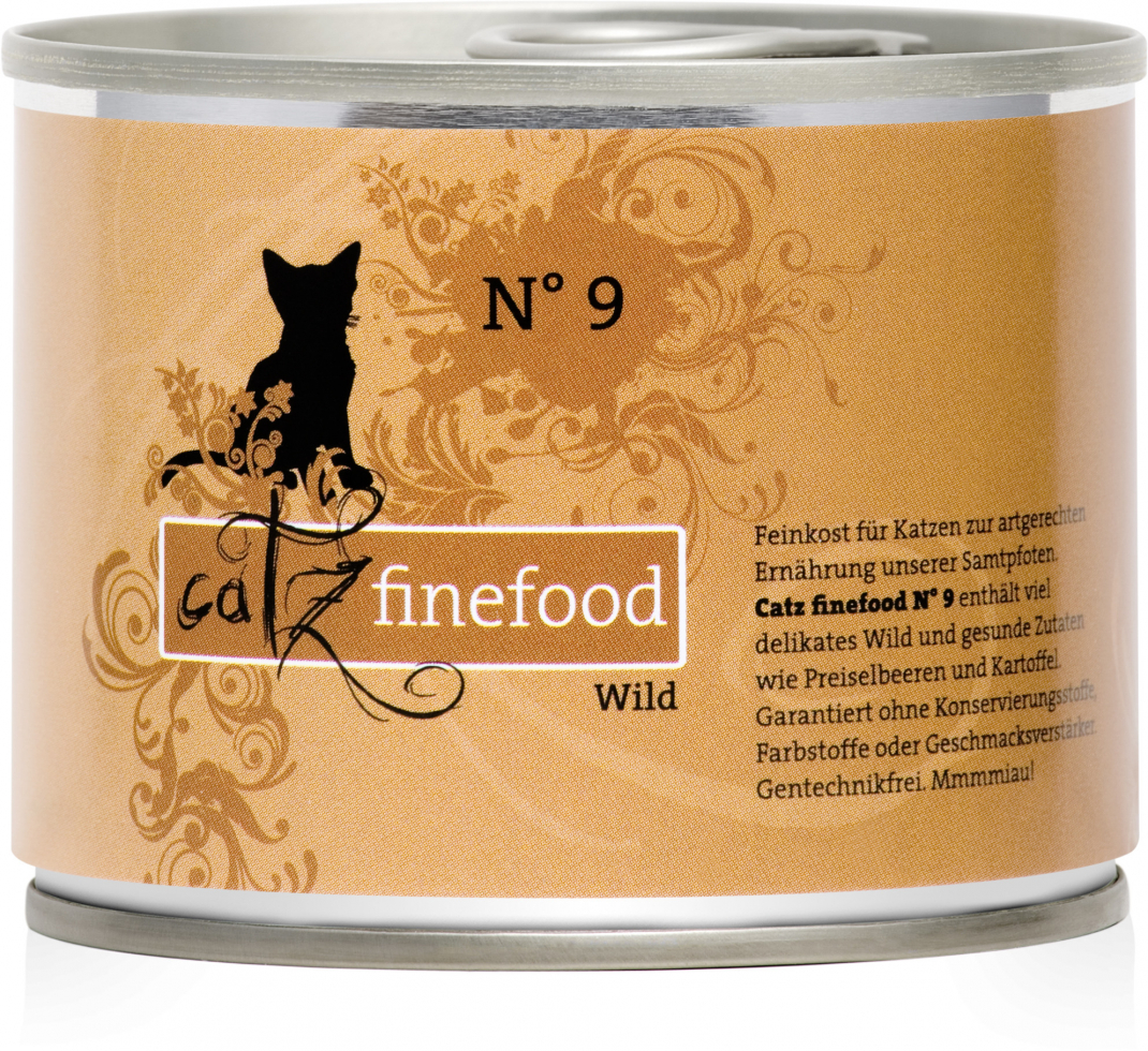 Catz Finefood No. 9 Game 200 g order cheap