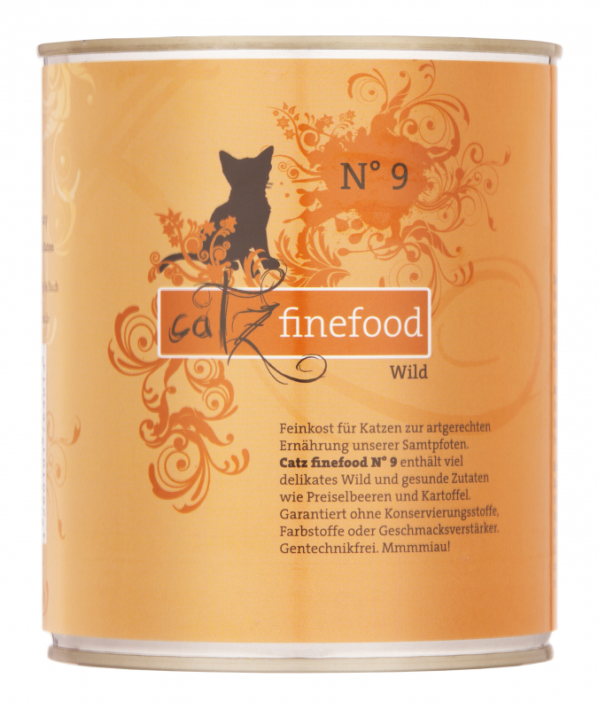 Catz Finefood No. 9 Game 800 g