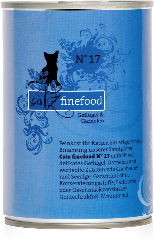 Catz Finefood No. 17 Poultry & Schrimps 400 g order cheap