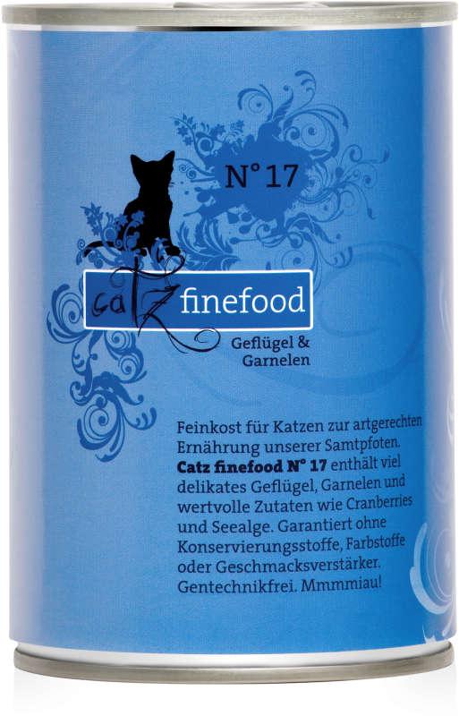 Catz Finefood No.17 Gevogelte & Garnalen 400 g
