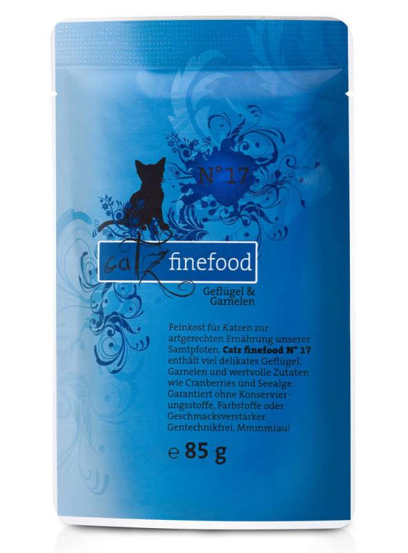 Catz Finefood No.17 Gevogelte & Garnalen 85 g
