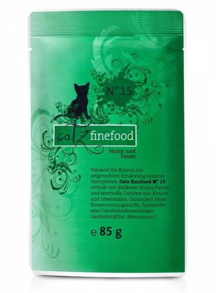 Catz Finefood No. 15 Chicken & Pheasant 85 g