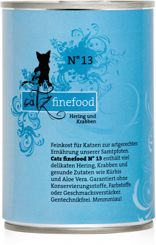 Catz Finefood No.13 Herring & Crabs 400 g