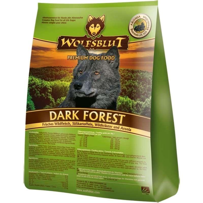 Wolfsblut Dark Forest Wildvlees, Zoete Aardappelen en Wilde Kruiden Aronia 7.50 kg