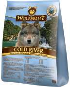 Wolfsblut Cold River, Fresh Trout, Sweet Potatoes, See Plants and Spirulina 500 g