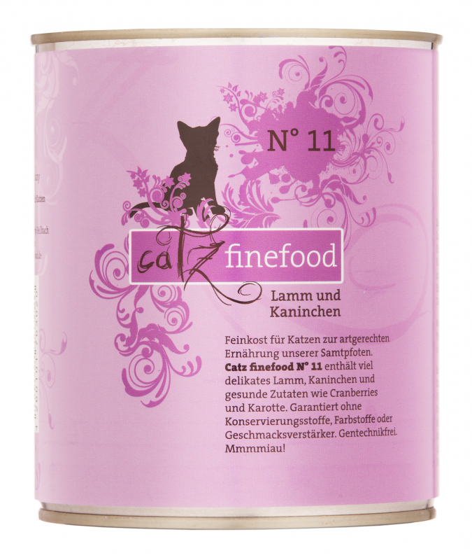 Catz Finefood No. 11 Lamb and Rabbit EAN: 4260101763082 reviews