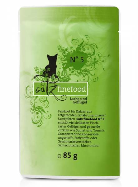 Catz Finefood No.5 Salmon & Poultry 85 g