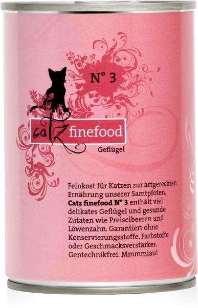 Catz Finefood No.3 Gevogelte 400 g